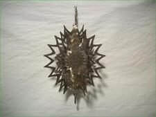 Decorative 3-D Metal Cut Spinning Star Mobile - All Metal Garden Decor