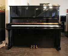 A 1991, Yamaha U30A upright piano with Disklavier MX100 player system