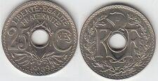 Gertbrolen 25 Centimes maillechort 1939  Superbe brillant de frappe Poids 3,98
