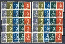 NEDERLAND  1940  # 374/78 (10x)    KW € 180     * ONG. VNL  PRACHT