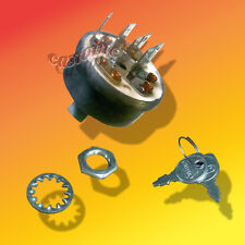 Starter Ignition Switch and key Fits MTD, Cub Cadet  # 725-3163, 925-3163,