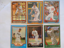 Topps Bowman inserts 2006 2008 2009 2010 2011 2012  serial # chrome etc.  Pick 3