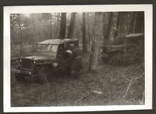 23 CAMP DE LA COURTINE PHOTO ARMEE FRANCAISE JEEP MANOEUVRES 1967