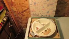 Antique Excello Baby Plate- MIB
