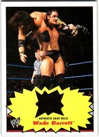 WWE Wade Barrett 2012 Topps Heritage Authentic Event Worn Shirt Relic Card FD30