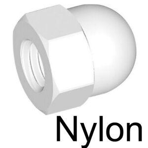 NYLON - ECROU BORGNE plastique - M5 (10)