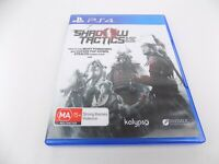 Mint Disc Playstation 4 Ps4 Shadow Tactics Free Postage