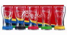 5 verres Coca-Cola Collection JO 2012 neuf