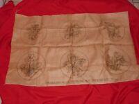 "Heirloom Primitive Floral Rug Hooking Pattern (6) 9"" Circular Mats E  (M8 12)"