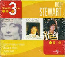 Rod Steward. Original 3 CDs (2003) BOX 3 CD NUOVO Sweet Little Rock'N'Roller Ang