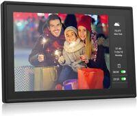 BSIMB 16GB Dual Display WiFi Digital Photo Frame IPS Touch Screen Motion Sensor