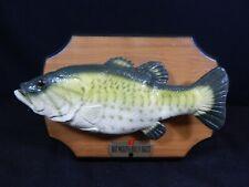 Billy Bass Singing Fish Musical Animated Talking Wall Hanging No Box