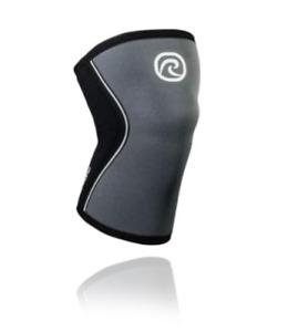 Rehband 105309 RX Knee Sleeve – Steel Gray, 5mm Neoprene