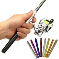 Fishing Rod and Reel Combos Full Kit Telescopic Fishing Pole with Spinning Reels