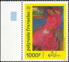 French Polynesia 1994 Paul Gauguin/Art/Artists/Paintings/Woman 1v (n45581)
