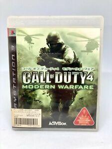 Sony PS3 PLAYSTATION - Call of Duty 4: Modern Warfare - Japan Version)