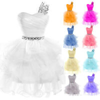 TEENS New Short Formal Cocktail Dress Prom Gown Evening Party Bridesmaid Dresses
