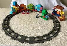 Duplo Set 10847 Number train with cat, complete WOB,+ extras VGC