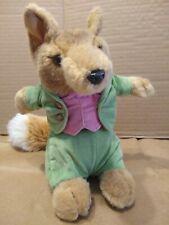 Eden Gentleman Fox Plush Doll