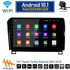 Android 10.1 Car GPS Radio Wifi Navi Stereo DVD Player For TOYOTA Sequoia Tundra
