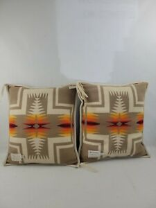 Genuine Pendelton Pillows High Grade Western Wear - **Some Flaws See Pics**