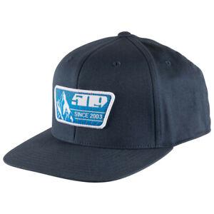 509 BLUE PRINTS  Flex Fit 110 Snapback Cap Hat  - Blue - Brand New