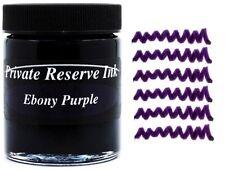 PRIVATE RESERVE - Fountain Pen Ink Bottle - EBONY PURPLE -  66ml - New