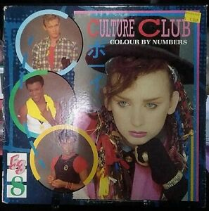 CULTURE CLUB Colour by Numbers Album Released 1983 Vinyl/Record Collection USA
