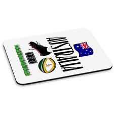 Rugby Australie tapis de souris PC ordinateur Drôle League Drapeau Britannique