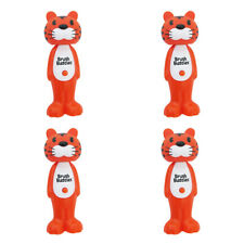 4X BRUSH BUDDIES POPPIN' TOOTHY TOBY SOFT TOOTHBRUSH ORAL DENTAL TEETH PROTECT