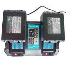 2x batería de 5A 18V para Makita BL1830B BL1840 BL1850B Li-Ion + cargador DC18RC