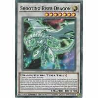 Shooting Riser Dragon DANE-ENSE3 - Super Rare Card Limited Edition Yu-Gi-Oh! TCG