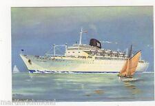Ybarra Line, Cabo San Roque / San Vincente Shipping Art Postcard, B561