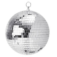 """6-12"""" Large Mirror Glass Disco Ball Party Bands Club Dj Stage Lighting Effect"""