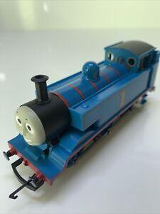 Hornby R351 OO Gauge Thomas & Friends Thomas 0-6-0 Loco Runs Well VGC (18)