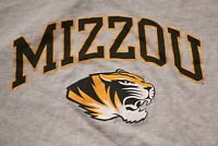 University of Missouri Tigers MIZZOU T-Shirt Champion Shirt Gray 2XL