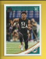 Minkah Fitzpatrick RC 2018 Panini Donruss Rookie Card # 353 Miami Dolphins NFL