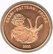 Switserland 2003 probe-pattern-essai - 5 eurocent - Bok