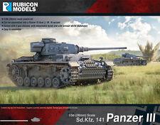PANZER III MID WAR - RUBICON MODELS - 1/56 - 28mm - WW2 TANK - BOLT ACTION RU002