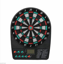 Kids & Adults Electronic Dartboard 18 Games Sound& Digital Score Home Office Fun