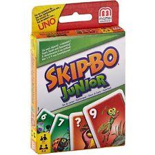Mattel 1882-juego de cartas-Skip-bo Junior