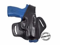 OWB Thumb Break Leather Belt Holster for Beretta Px4 Storm Full Size .45 ACP