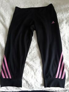 Adidas Ladies Gym Leggings below knee cropped