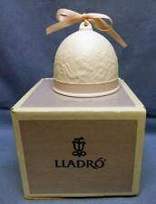 1991 Lladro Spring Bell Valencia Espana Pink Trim New In Box