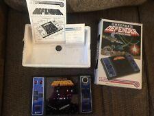 Vintage 1982 Entex Defender Electronic Arcade Game No 6088 Handheld Table Top