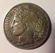 5 francs 1849 argent Cérès