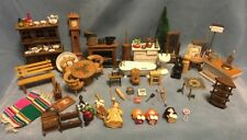 Vintage Dollhouse Furniture Lot 90+ Pieces 1972 Reevesline