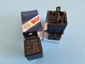 Bosch Fuel Pump & Cooling Fan Relay & Misc. Relay BMW, Volvo, Saab, Volkswagen