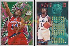 NBA FLEER 1995-1996 SERIES 2 - Robert Pack, Bullets # 328 - Mint