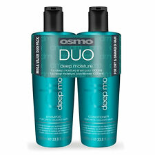 Osmo Deep Moisturising Duo Twin Pack 1000ml Shampoo and Conditioner + pumps
